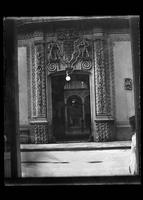 Doorway into the Hotel Iturbide