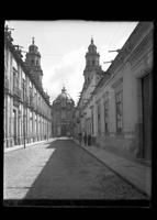 Street in front of the cathedral