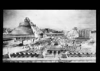 Plaza and Great Temple of Tenochtitlan