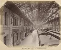 Inside the southern railroad station
