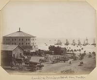 Immigrants arriving to Port San Martin