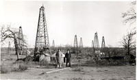A little section of the Jennings oil field