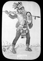 Zapotec warrior picture