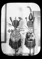 Aztec shield and weapons