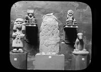 Precolumbian sculptures