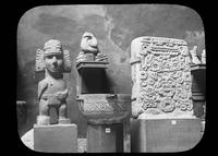Aztec sculptures