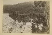Trestle over the Itamaraty waterfall