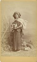 Woman with a tortilla basket