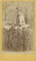 Woman vendor of