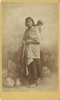 Kickapoo woman and child
