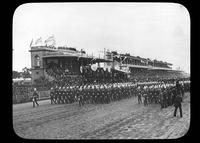 Military parade in the hippodrome