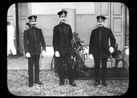 Three military officers