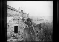 Rear entrance to Morro Castle