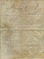 Marriage contract, New Orleans