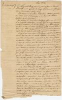 Act of sale of property, a transaction between Louis Bouligny and Daniel Clark, both of New Orleans