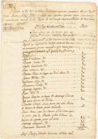 Reports of taxes collected from inns, taverns, and billiard parlors in New Orleans