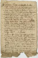 Agreement to pay inheritance fees to the Seigneurie du Chastel, parish of Quilbignon, [France]