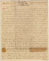 Business letter from John Leslie, London, to John Forbes, [Pensacola]