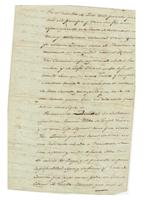 Will and testament of Maria Olivares, widow of Joseph Galvez, New Orleans