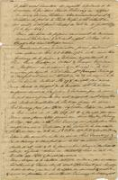 Abstract of documents in the Pointe Coupée Parish archives relating to the concession of Paris Duvernay de la Garde to the village of the Bayagoulas, in conjunction with the succession of Claude Trénonay
