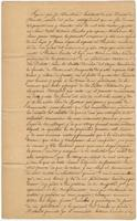 Act of sale of property, a transaction between Antonio Lanclos and his son Antonio Lanclos, [Jr.], both of the Iberville District