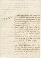 Official letter from Martín Navarro, New Orleans, to Fernando José Mangino, Mexico