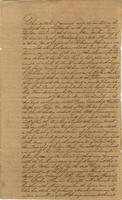 Agreement of partnership between William Long and Joseph T. Robinson.