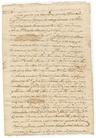 Act of donation of a slave by David Lejeune and his wife, New Feliciana, to Carlota Bauvais