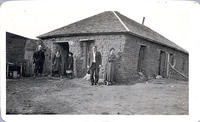 A well preserved sod house