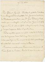 Official letter from the Baron de Carondelet, [New Orleans], to Colonel Francisco Bouligny, [New Orleans]