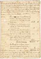 Reports of taxes and rentals collected by the City Magistrate assigned to the municipal market in New Orleans