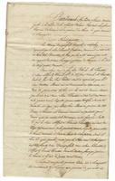 Act of sale of property by Henry Daingerfield of Natchez, and by Anne Thurston and Alfred and Edmond Thurston of Saint Martin Parish, widow and sons of the late Charles M. Thurston, to Ignace Delino [de Chalmet]