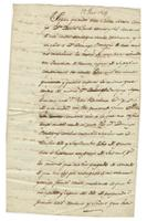 Act of sale of property, a transaction between Daniel Clark and D[ominique] Bouligny, both of New Orleans