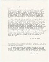 Certificate of service issued by Bernardo de Gálvez, Havana, to Pedro Rousseau, [in Louisiana] Transcript