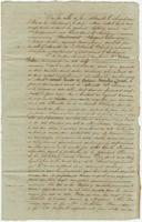 Act of sale of property, a transaction between Isidore Roche and Messrs. Casimir Lacoste and Antoine Marcelin Ducros, of Saint Bernard Parish