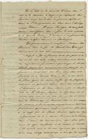 Act of sale of property, a transaction between Madame Alix Bienvenu, widow of Barthélemi Duverjé, and Isidore Roche, both of New Orleans