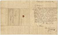 Business letter from Cr. Anthoine, Saint Martinville, to Jean Baptiste Beauvais, Saint Martinville