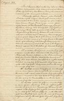 Acceptance of mortgage created by David B. Morgan and his wife, Saint Tammany Parish on 1838 July 25, by which [General] David Bannister Morgan and his wife Mary Constance Baham, both of the same parish, created a mortgage in favor of the Citizens' Bank t