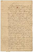 Act of sale of property, a translation between the agents for the estate of François Cousin and Jean Baptiste Labatut, New Orleans