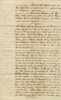 Act of sale of property, a transaction between Casimir Lacoste, Orleans Parish, and Hortense Lacoste, widow of Antonio Ducros