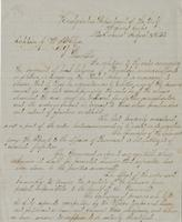 Official letter from Major General Nathaniel P. Banks, Headquarters, Department of the Gulf, New Orleans, to Captain John W. McClure, Assistant Quartermaster, New Orleans
