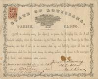 Oath of allegiance to the United States, sworn by F.E. Harding, Caddo Parish