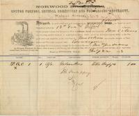 Bills of lading for cotton shipped to Golsan Brothers, cotton factors and commission merchants, New Orleans