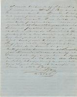 Bill collection authorization given by P.J. Pavy, New Orleans, to L.J. Gary, New Orleans