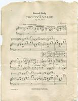 Second Study on Chopin's Valse, Opus 64 No. 1