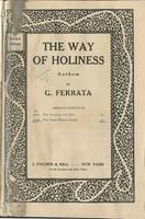 The Way of Holiness: Anthem for Treble Voice
