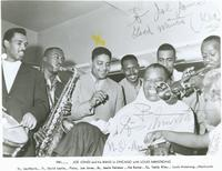 Joe Jones & his band
