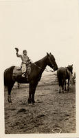 Unidentified boy on horse