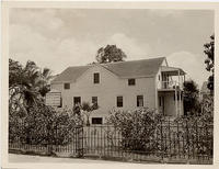 First frame house built west of Rocky Mountains in 1821 Honolulu