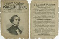 Cover of a Confederate War Journal